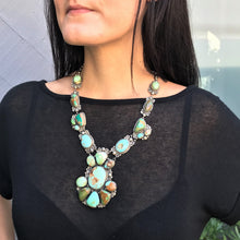 Load image into Gallery viewer, Big Bold Beautiful Kathleen Chavez Cluster Necklace