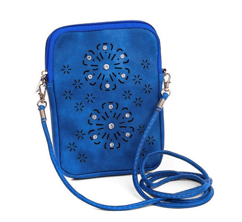 Cross over bag - Royal Blue