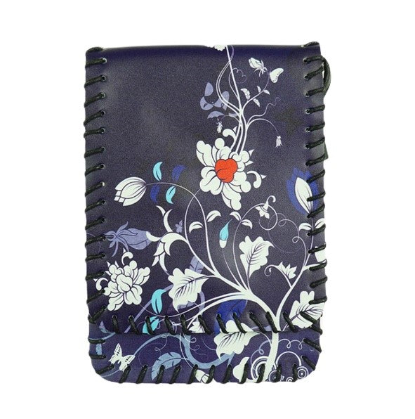 Cross over bag navy - flower