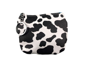Coin Purse - Cow Print