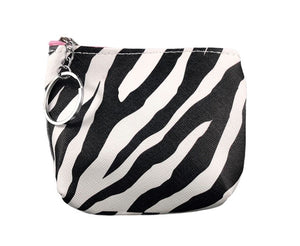 Coin Purse - Zebra Stripe