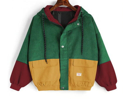 PATCHED Corduroy Jacket