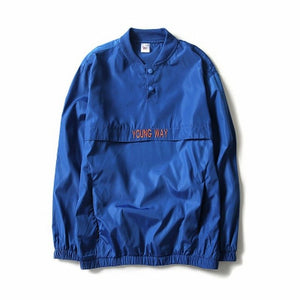 WINDBREAKER Reflective Bomber Jacket