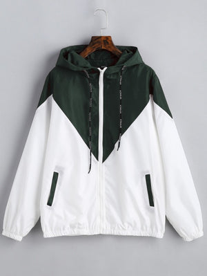 DUAL-TONED Windbreaker Jacket