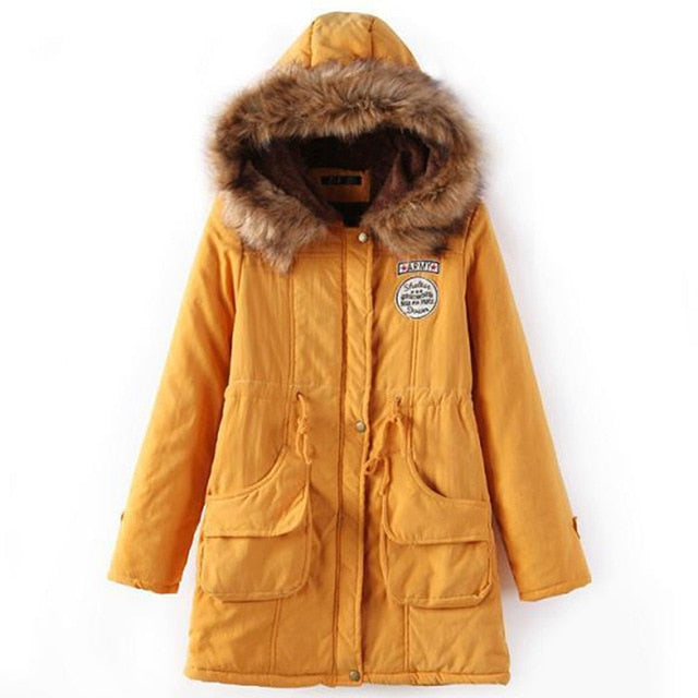 BASIC Oversized Women's Parka Coat