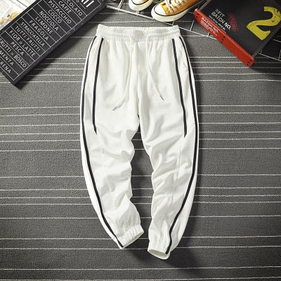 SIDE STRIPE Casual Joggers