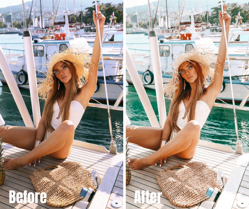SUMMER BABE Mobile Lightroom Presets