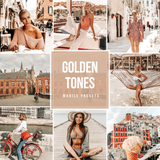 Golden Tones Mobile Presets
