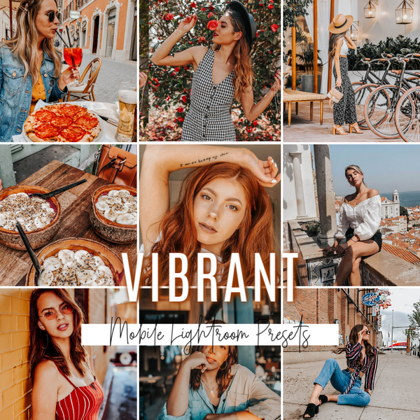 VIBRANT Mobile Lightroom Preset