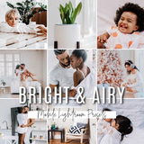 BRIGHT & AIRY MOBILE PRESETS