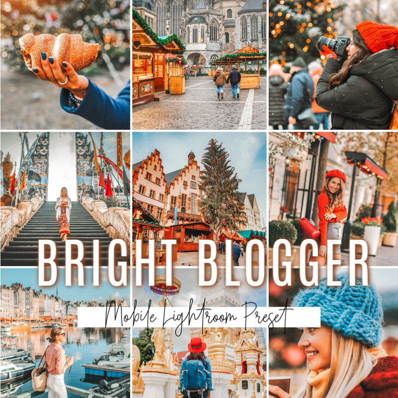 BRIGHT BLOGGER MOBILE PRESET