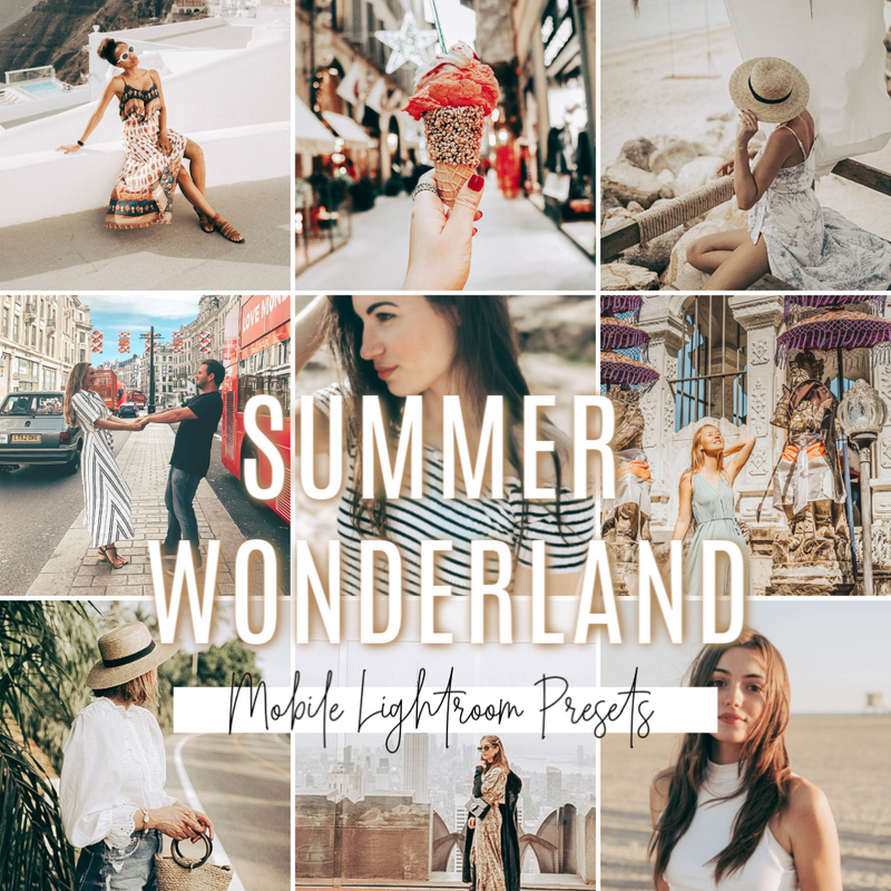 SUMMER WONDERLAND MOBILE PRESETS