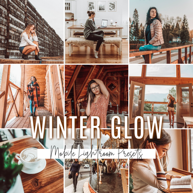 WINTER GLOW Lightroom Mobile Preset
