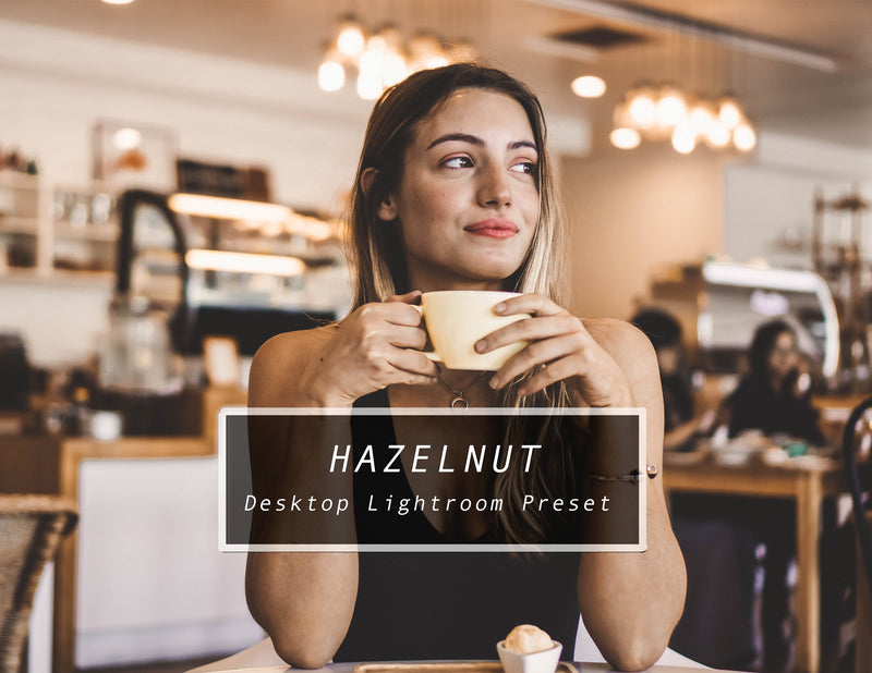 HAZELNUT Desktop Lightroom Presets