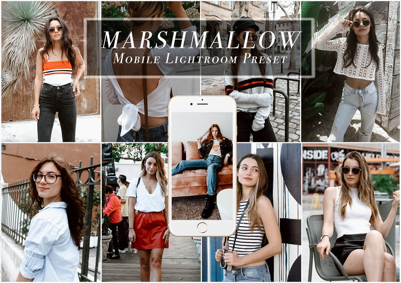 MARSHMALLOW Mobile Lightroom Preset