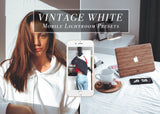 VINTAGE WHITE Mobile Lightroom preset
