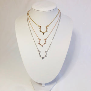 Darla Deer Necklace