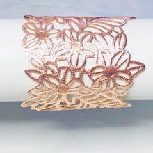 Load image into Gallery viewer, Floral Cuff