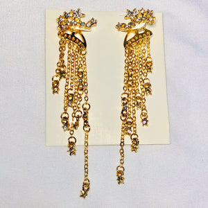 Star Cascade Earrings