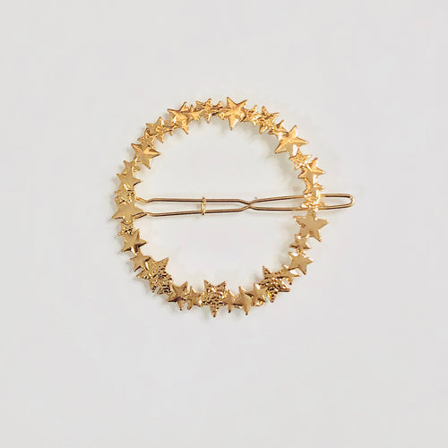Starry Wreath Hair Clip