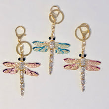 Load image into Gallery viewer, Darcy Dragonfly Keychain