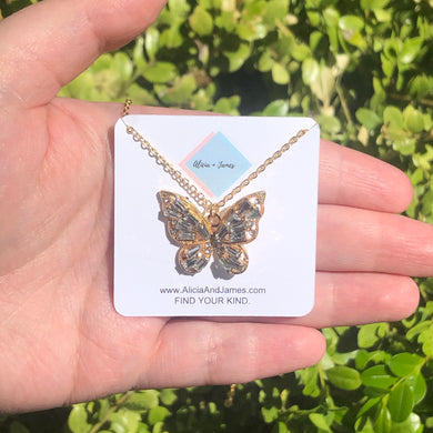 Bailey Butterfly Necklace
