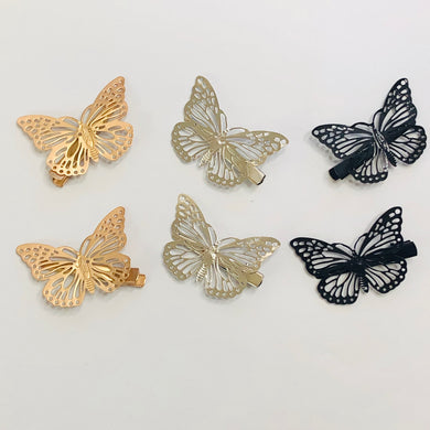 Betty Butterfly Hair Clips