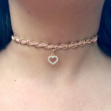 Load image into Gallery viewer, Hannah Heart Choker