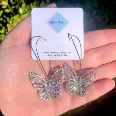 Bindy Butterfly Earrings