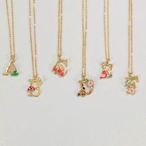 Laura Letter Necklace