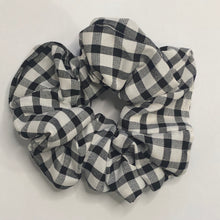 Load image into Gallery viewer, Gabrielle Gingham Scrunchies