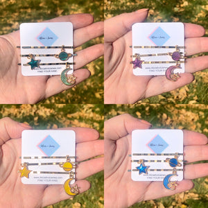 Selina Sky Hair Charms