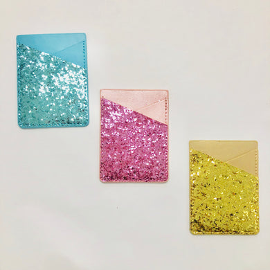 Gloria Glitter Phone Wallets