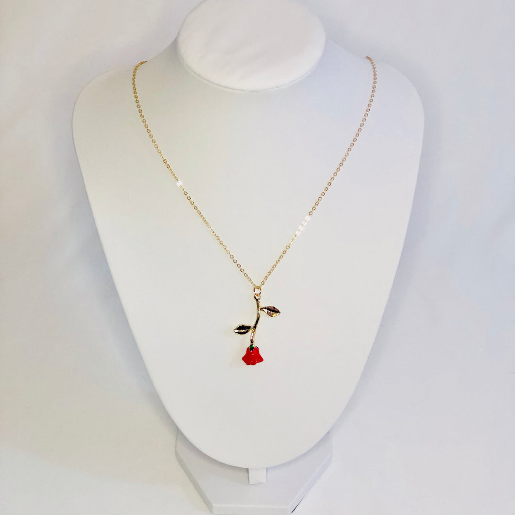 Rosie Rose Necklace