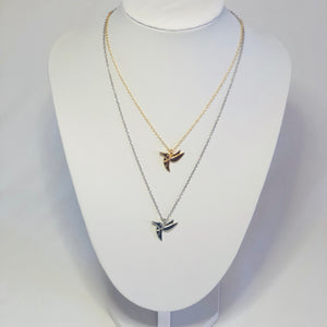 Hallie Hummingbird Necklace