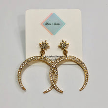 Load image into Gallery viewer, Christa Crescent Earrings