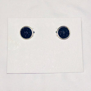 Colored Spot Earrings