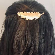 Load image into Gallery viewer, Lily Leaf Hair Clip
