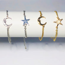 Load image into Gallery viewer, Moon & Stars Bracelet