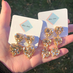 Casey Crystal Earrings