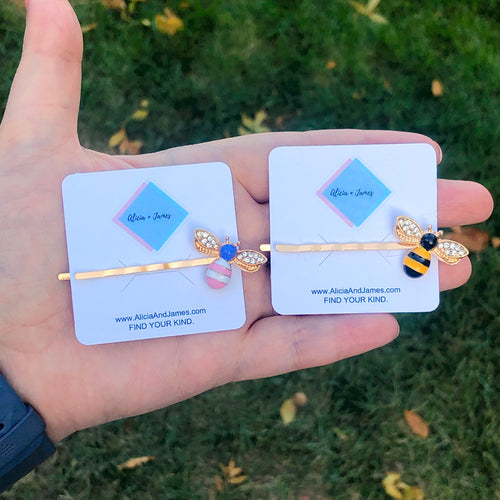 Brielle Bee Hair Pins
