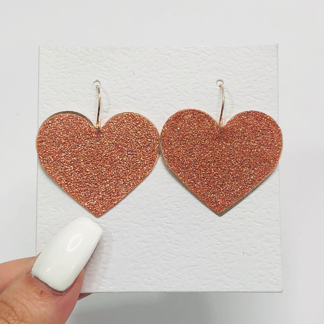 Sparkle Hearts Earrings