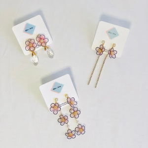 Elvia Floral Earring Collection