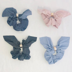 Sandra Striped Scrunchie