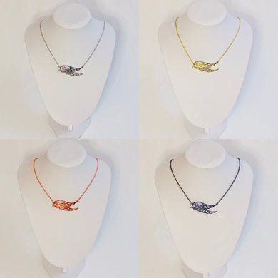 Angelic Angel Wings Necklace