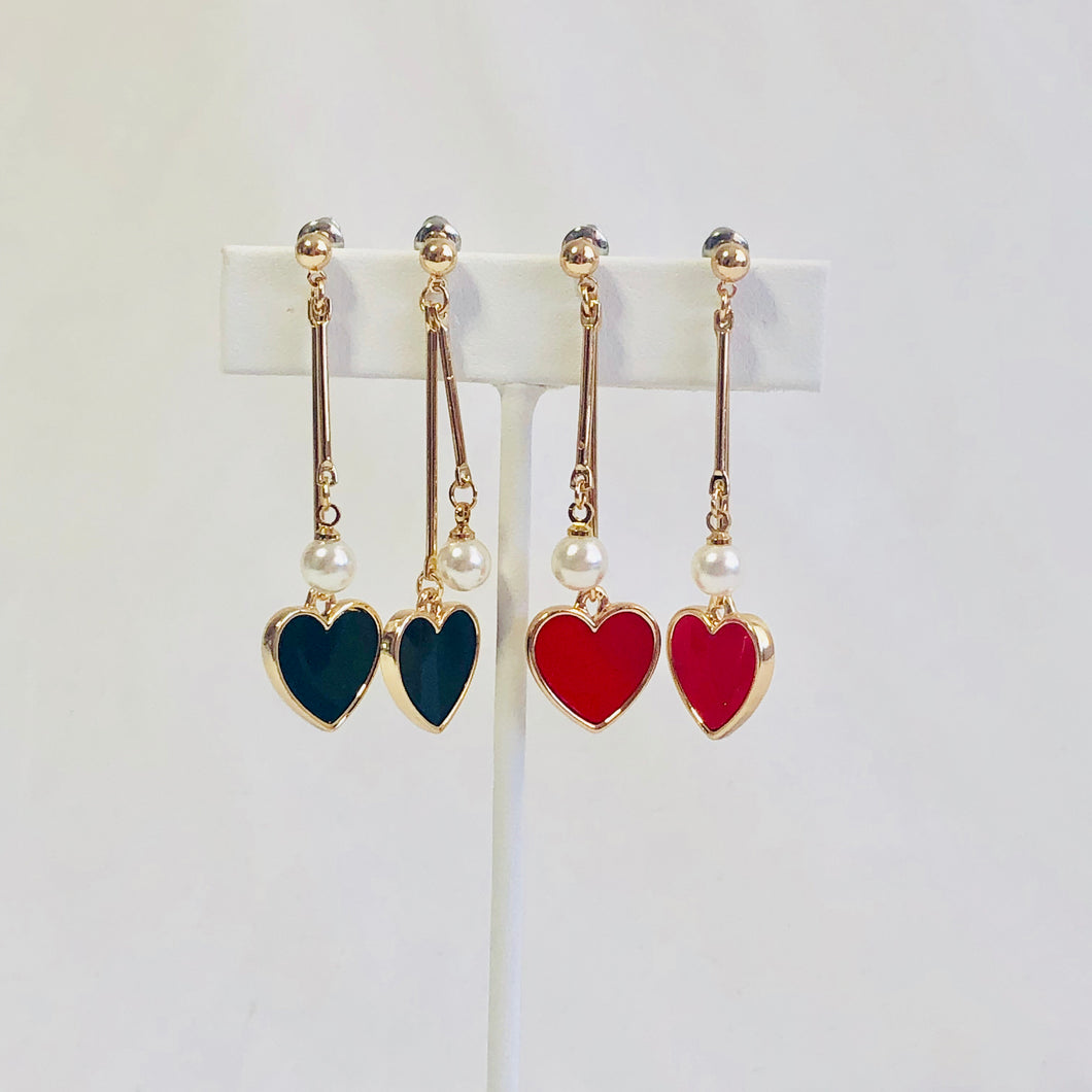 Halsey Heart Earrings