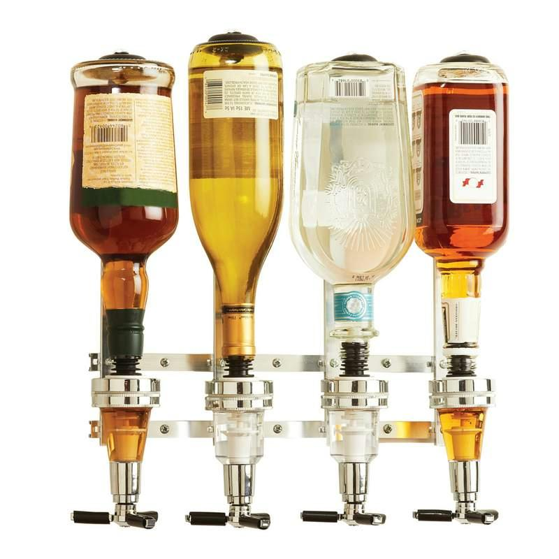 4-Bottle Liquor Dispenser