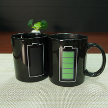 Load image into Gallery viewer, Creative Battery Magic Coffee Mug Positive Energy