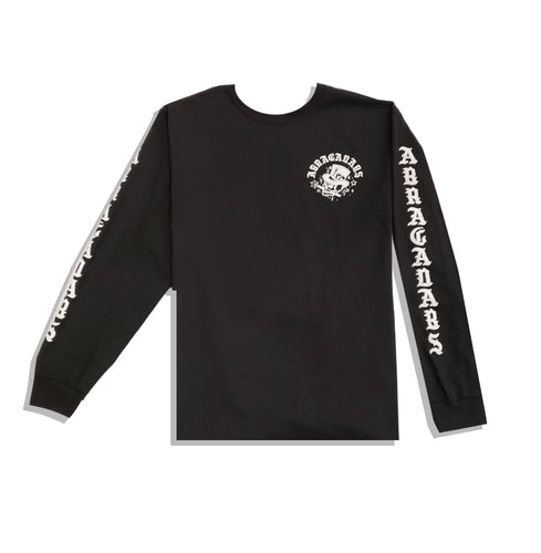 SKULL TOP HAT ACD LONGSLEEVE BLACK