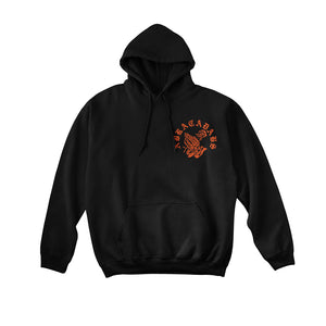 Abracadabs Old English Black & Orange Hoodie - ABRACADABS